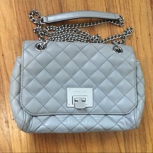 Michael kors quilted leather crossbody